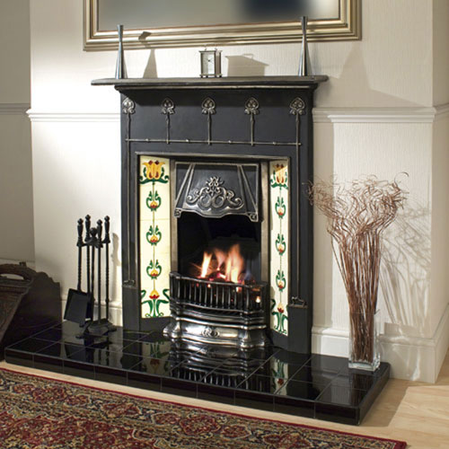Cast Iron Fireplace Installation