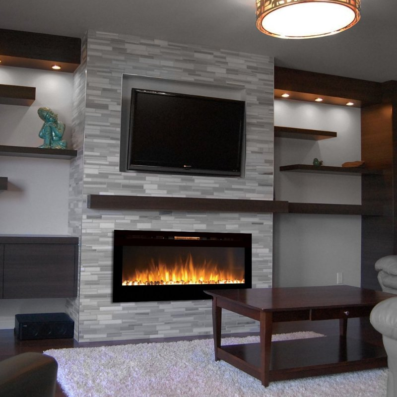 Electric Fireplace Installation Services - Weatherford, Texas