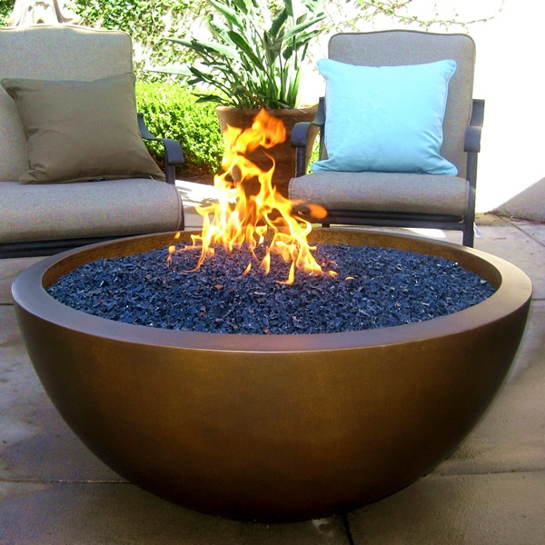 Gas Fire Pit Installation - Fireplace Installation - South San Francisco, California