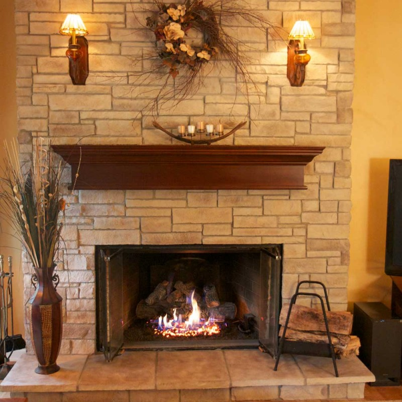 Fireplace To Wood Stove Conversion - Fireplace Installation - Lake Elsinore, California