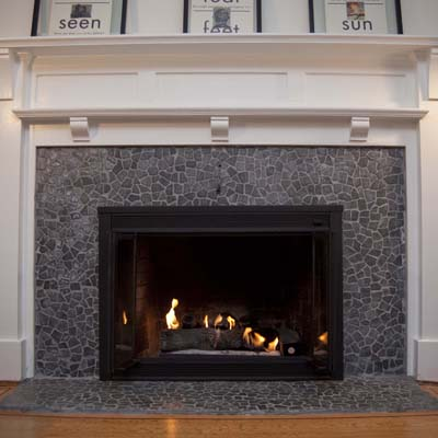 Tile Fireplace Installation - Fireplace Installation - Lake Elsinore, California